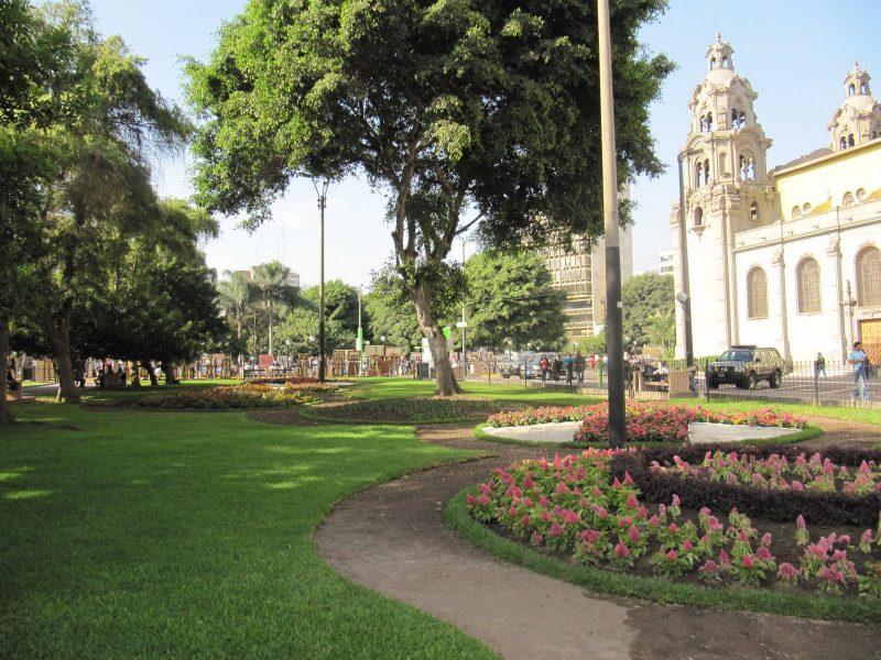 Parque Kennedy Miraflores