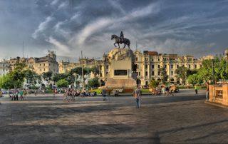 Plaza San Martín de Lima