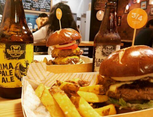 Tres Cuartos Burger Bar | Hamburguesería Miraflores