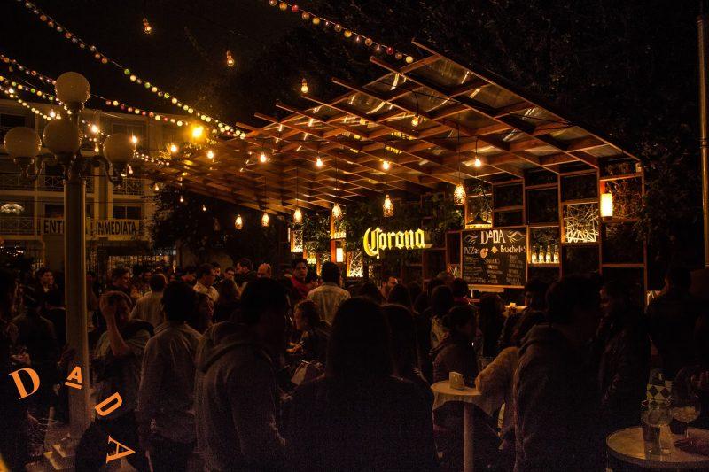 Terraza de Dada en Barranco