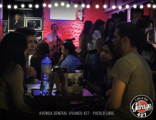 Garage 427 | Café Bar Pueblo Libre